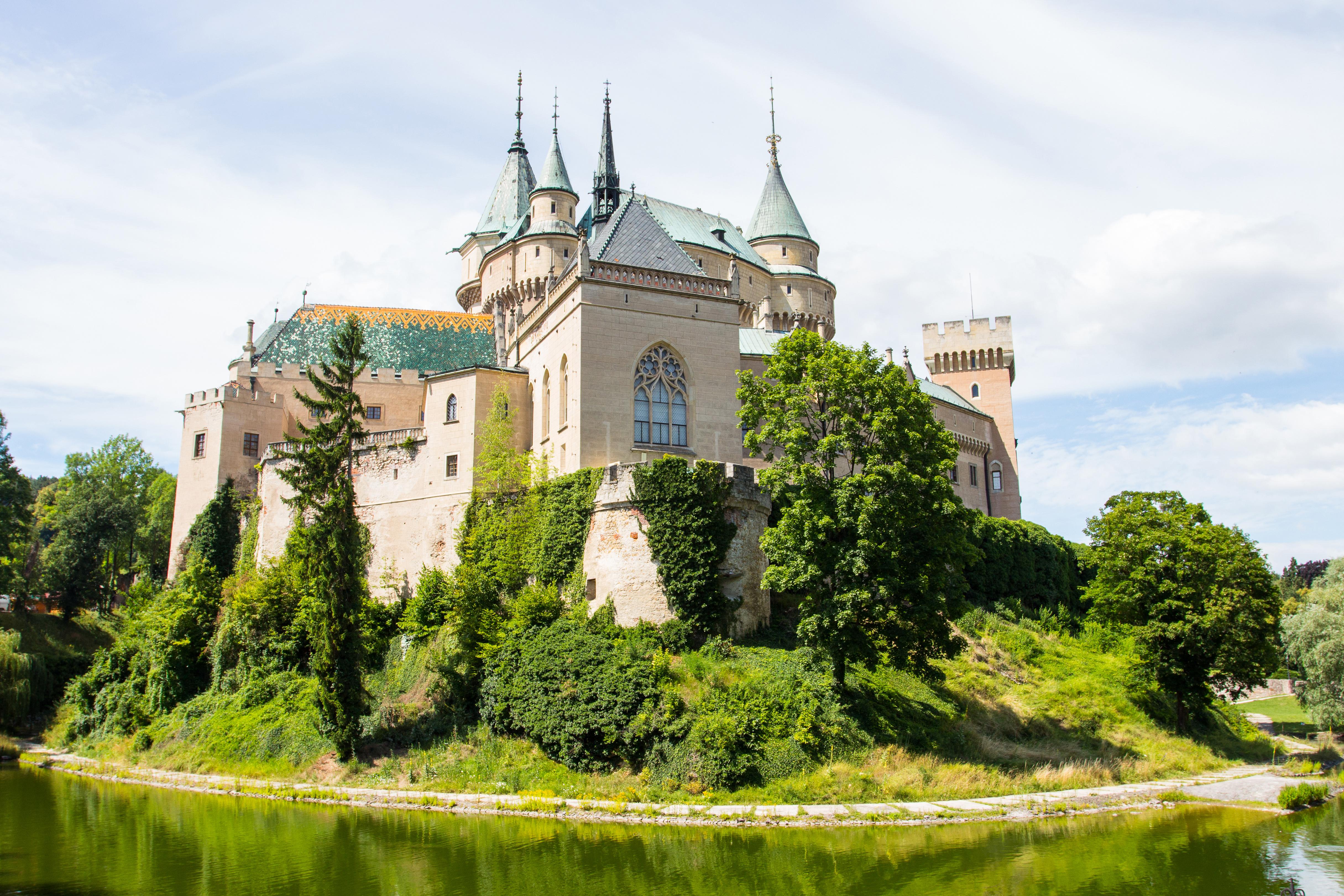 Bojnice castle in Slovakia