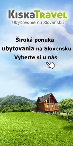 KISKA - ubytovanie na Slovensku